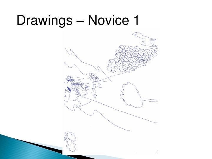 Drawings – Novice 1