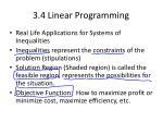 3 4 linear programming