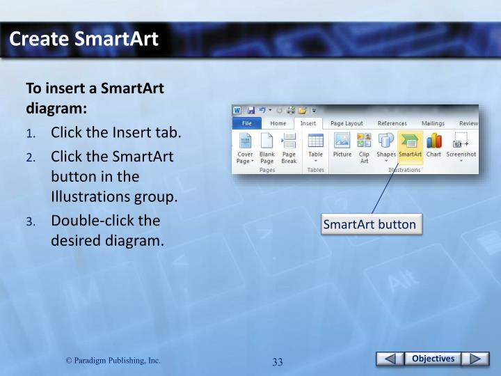 Create SmartArt