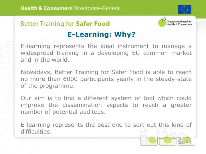 E-Learning: Why?