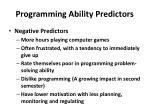 programming ability predictors4