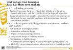 work package 3 task description task 3 2 short term markets1