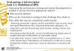 work package 3 task description task 3 3 definition of kpis