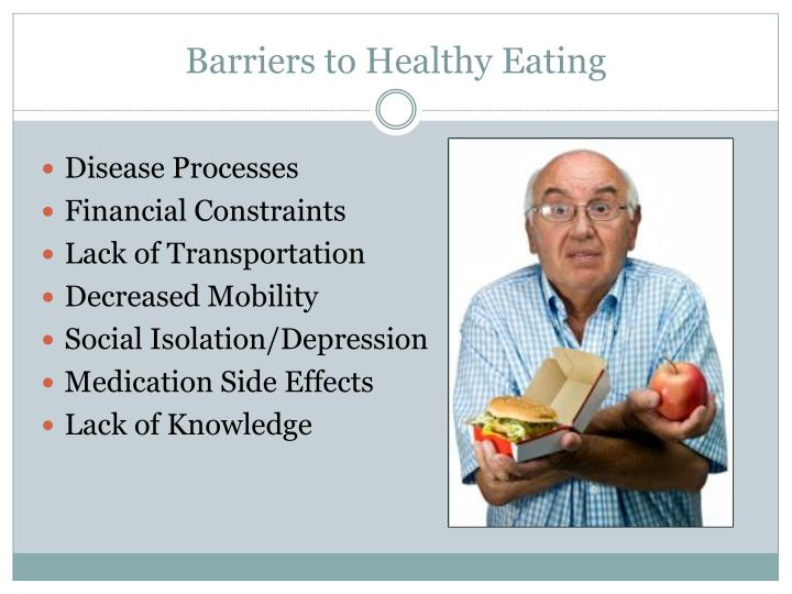 Barriers to Healthy Eating