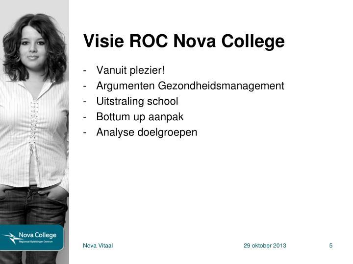 Visie ROC Nova College