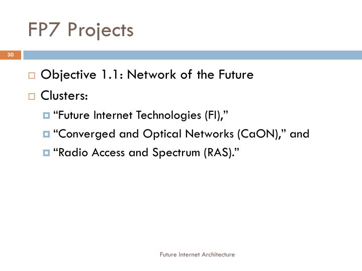 FP7 Projects