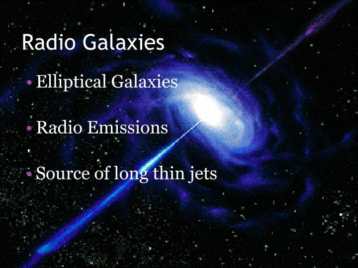 Radio Galaxies
