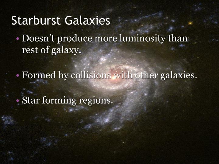 Starburst Galaxies