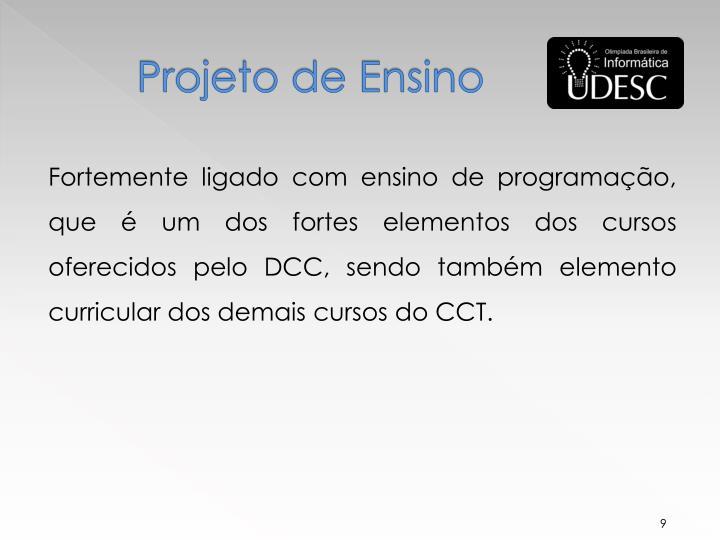 Projeto de Ensino