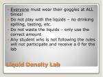 liquid density lab1