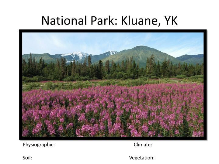 National Park: