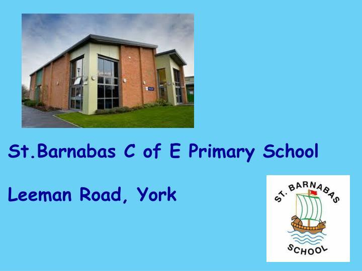 St.Barnabas