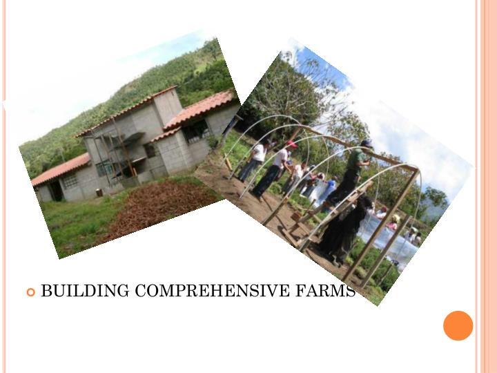 BUILDING COMPREHENSIVE FARMS