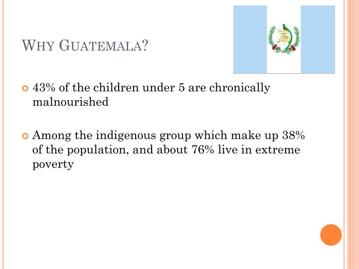 Why Guatemala?