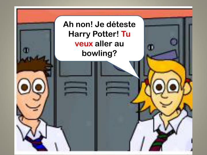 Ah non! Je déteste Harry Potter!