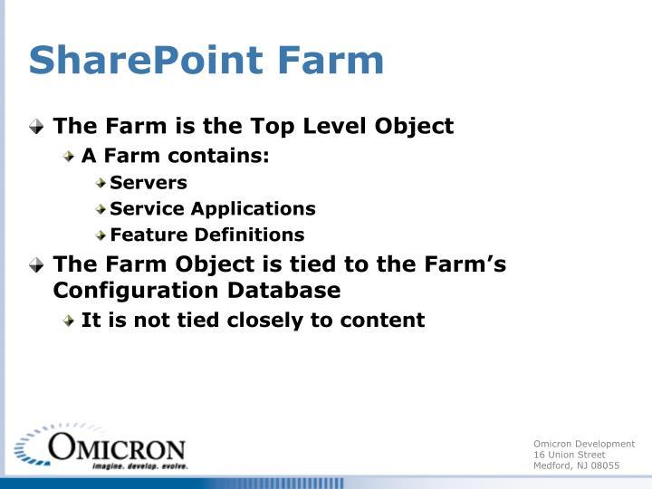 SharePoint Farm