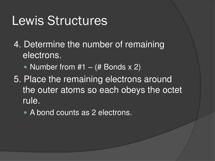 Lewis structures1