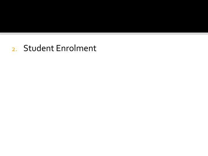 Student Enrolment