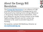 about the energy bill revolution