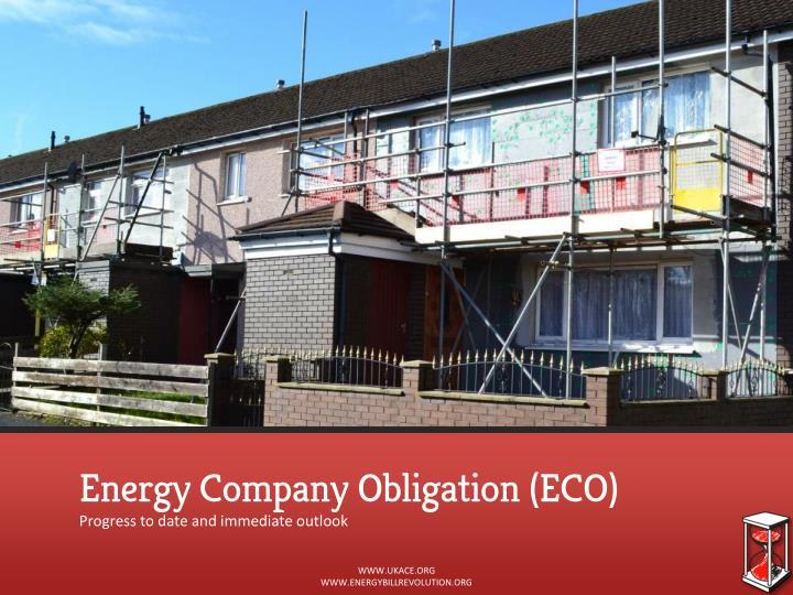 Energy Company Obligation (ECO)