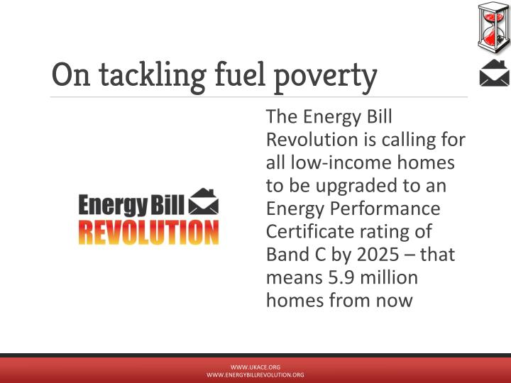 On tackling fuel poverty