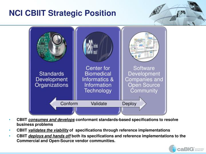 NCI CBIIT Strategic Position