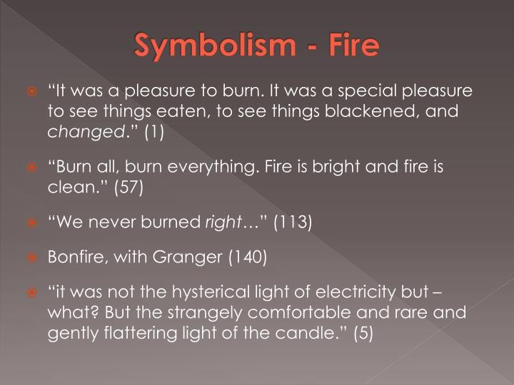 Symbolism - Fire