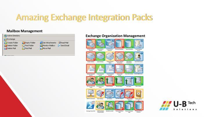 Amazing Exchange Integration Packs