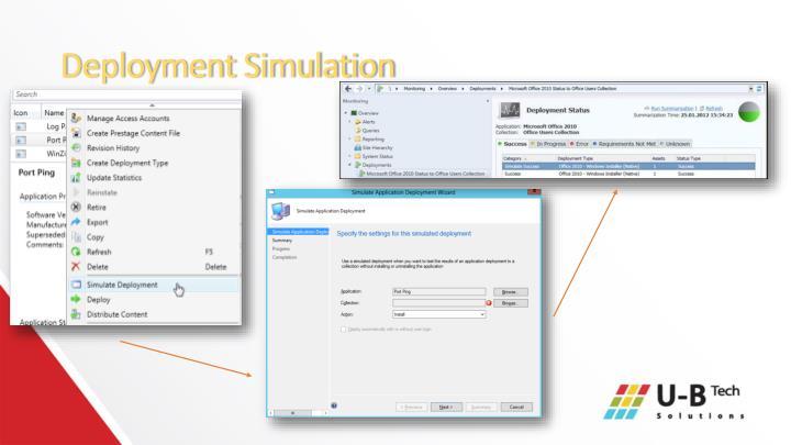 Deployment Simulation