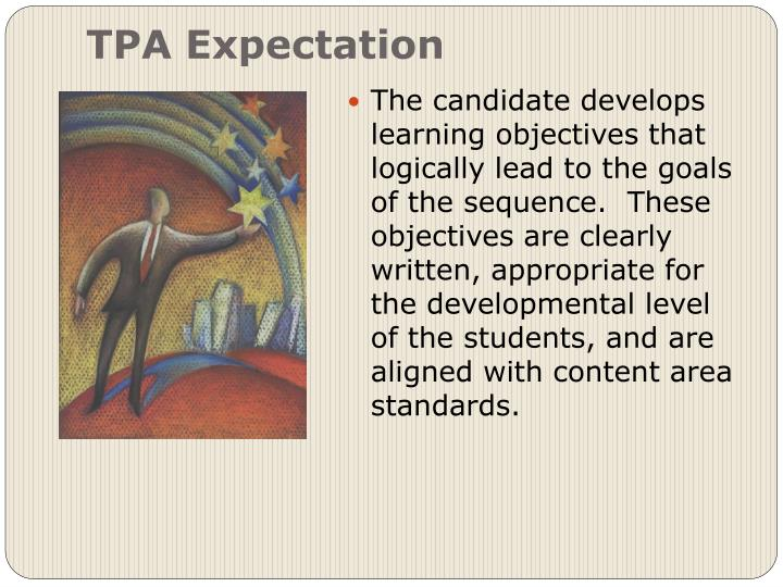 TPA Expectation