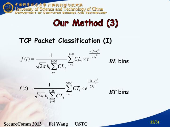 Our Method (3)