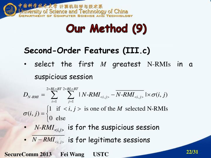 Our Method (9)
