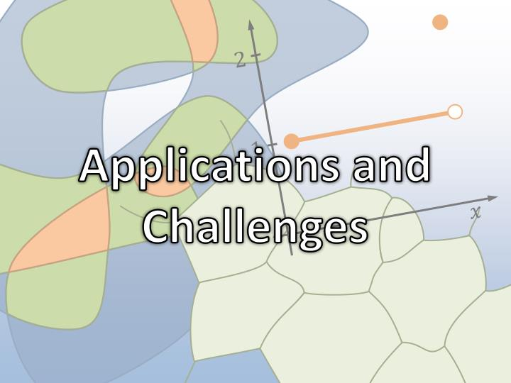 Applications and Challenges