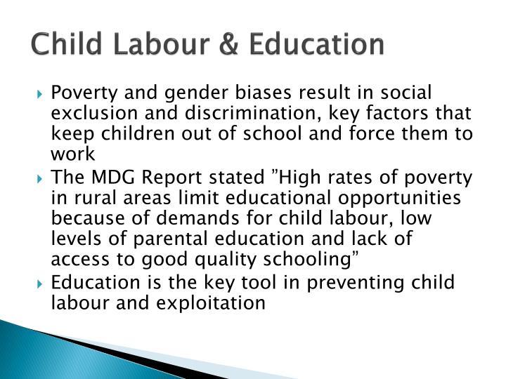 Child Labour & Education