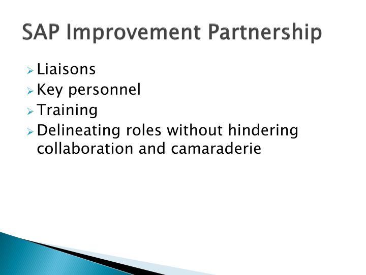 SAP Improvement