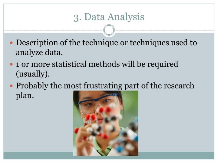 3. Data Analysis