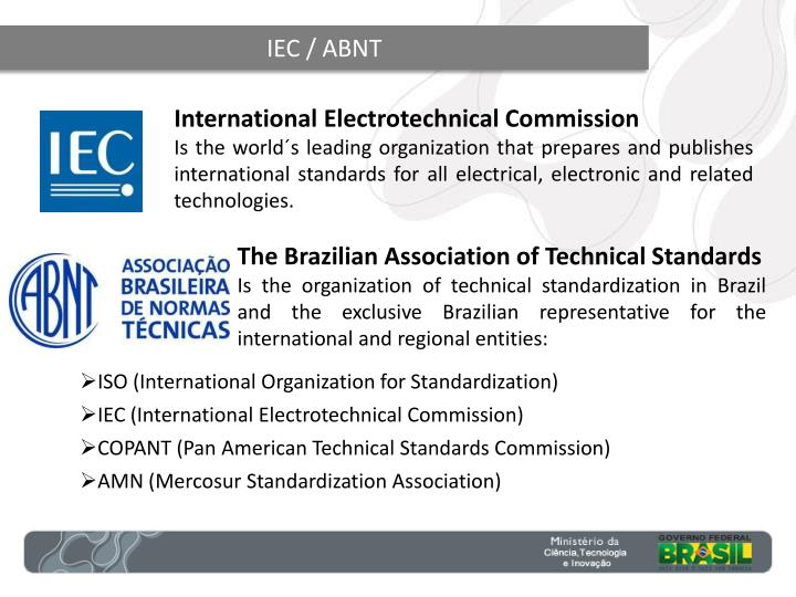 IEC / ABNT