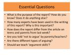 essential questions1