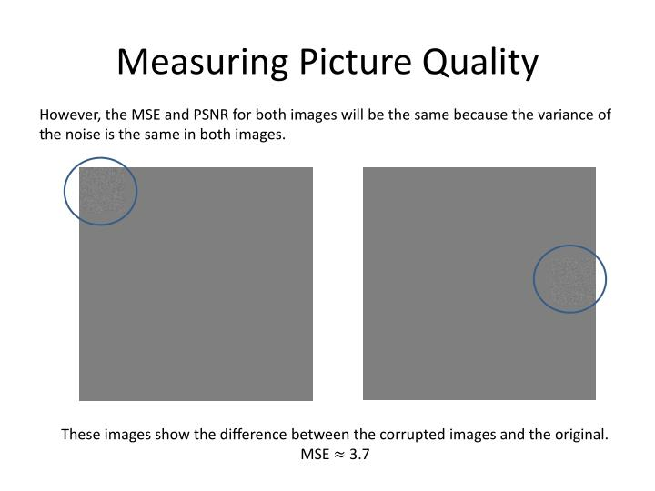 Measuring Picture Quality
