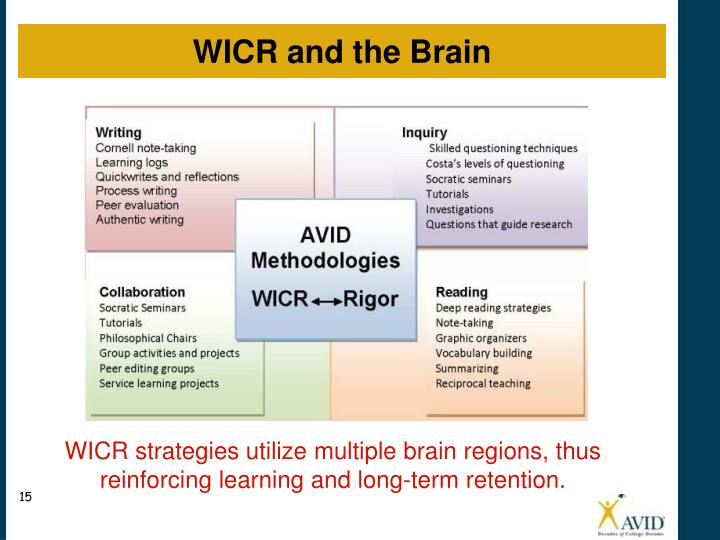 WICR and the Brain