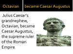 octavian became caesar augustus