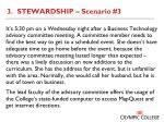3 stewardship scenario 3