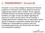 4 transparency scenario 2