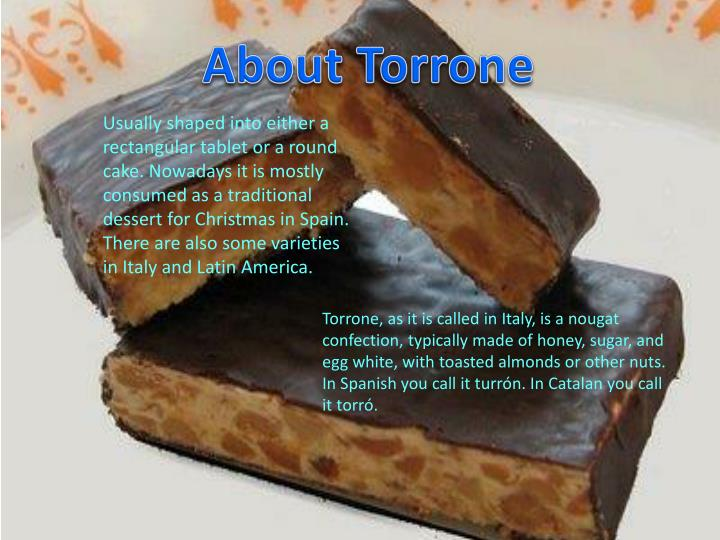 About Torrone