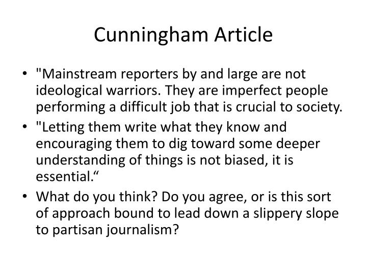Cunningham Article