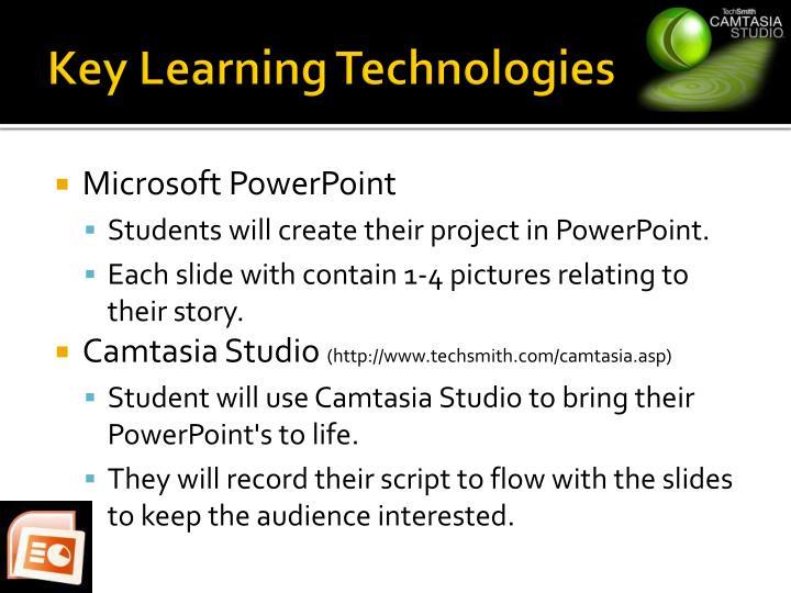 Key Learning Technologies