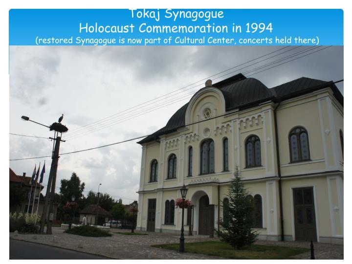 Tokaj Synagogue