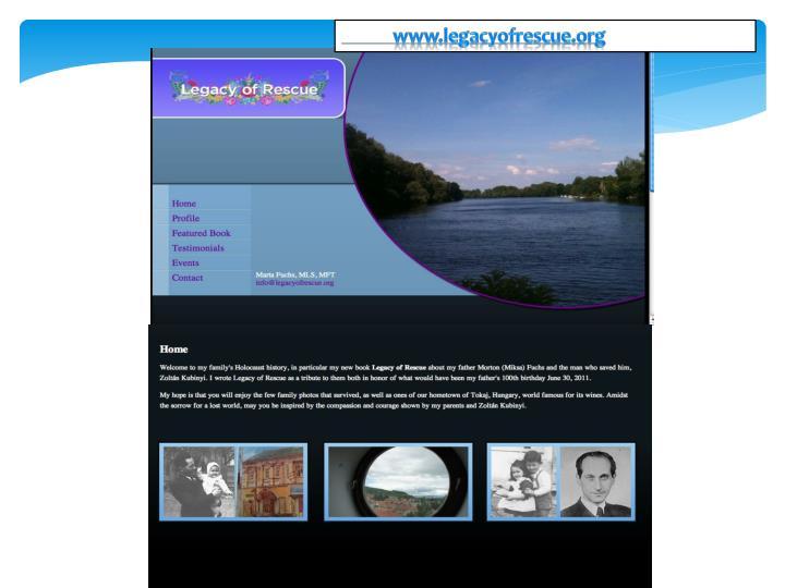 www.legacyofrescue.org