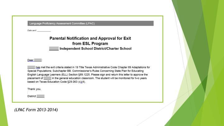 (LPAC Form 2013-2014)