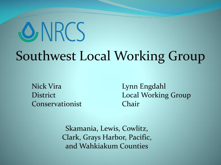 Southwest Local Working Group